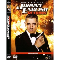 JOHNNY ENGLISH RETURNS DVD
