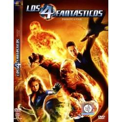 LOS 4 FANTASTICOS DVD FICCIÓN