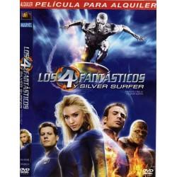 LOS 4 FANTASTICOS Y SILVER SURFER Dvd Acción