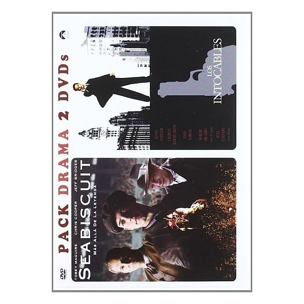 PACK 2 DVD SEABISCUIT - LOS INTOCABLES