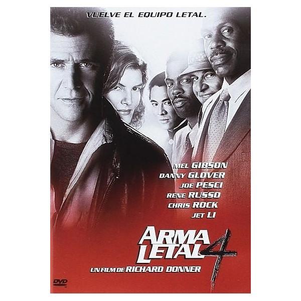 ARMA LETAL 4 DVD 1998
