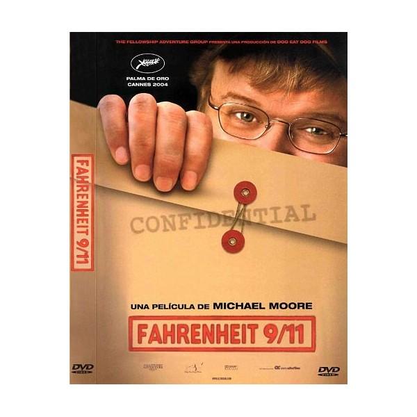 FAHRENHEIT 9/11 DVD Documental 2004