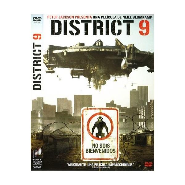 DISTRICT 9 Dvd Acción 2009