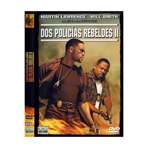 DOS POLICIAS REBELDES II Dvd 2003
