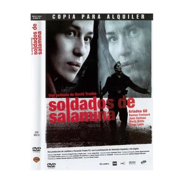SOLDADOS DE SALAMINA Dvd Cine Español 2003