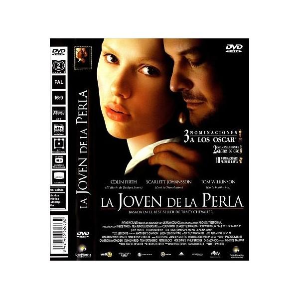 LA JOVEN DE LA PERLA Dvd 2003
