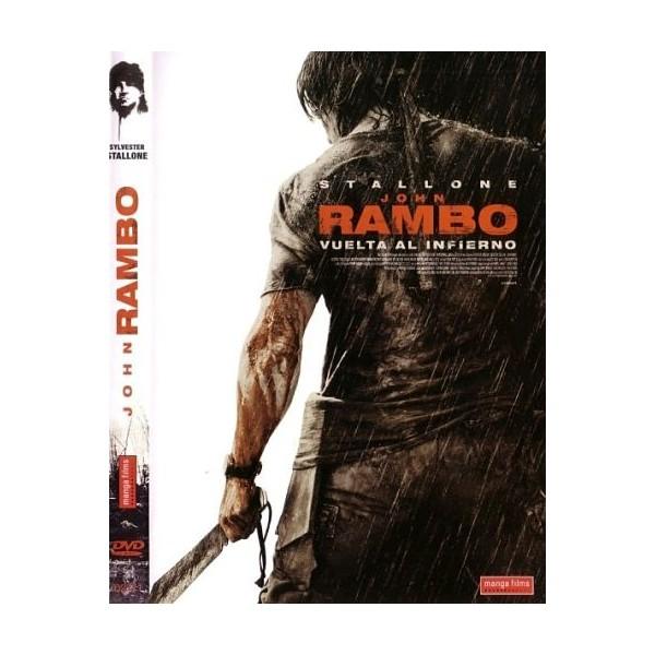 JOHN RAMBO VUELTA AL INFIERNO Dvd Acción