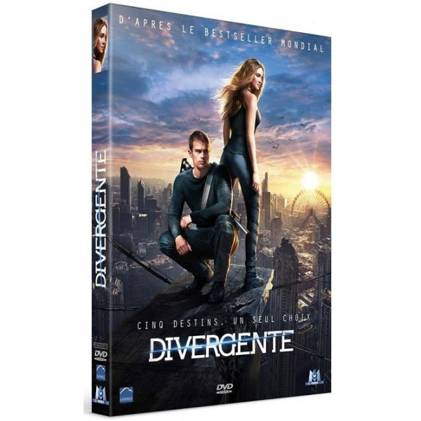 DIVERGENTE DVD 2014