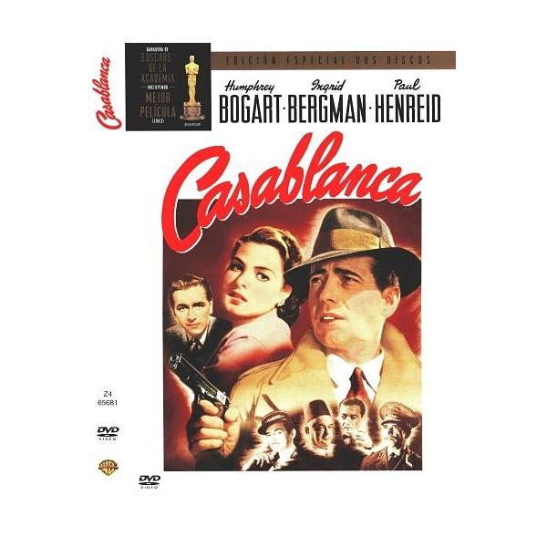 CASABLANCA (CASA BLANCA) EE DOS DISCOS DVD 1945