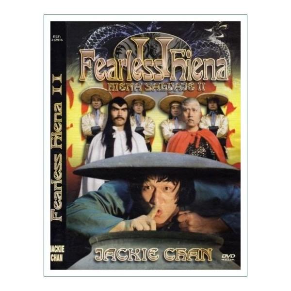 FEARLESS HIENA SALVAJE II DVD 1983