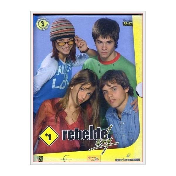 Pack Rebelde Way (Ep. 56-67) DVD 2002