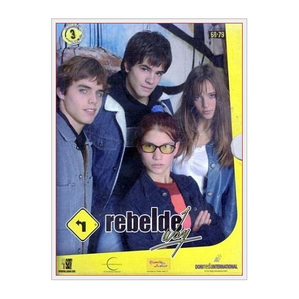 Pack Rebelde Way (Ep. 68-79) 3 DVD