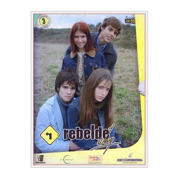 Pack Rebelde Way - 4ª Temporada (Ep. 44-55) 3 DVD