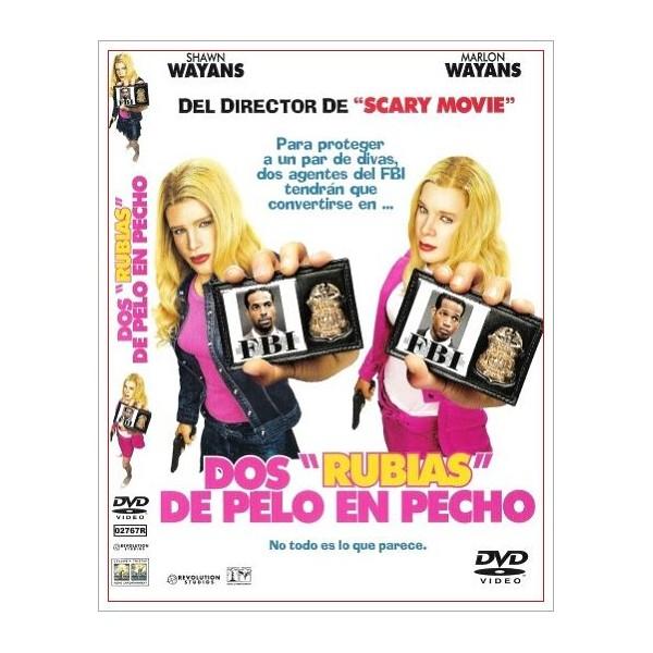 DOS RUBIAS DE PELO EN PECHO DVD 2004 Dirigida por Keenen Ivory Wayans