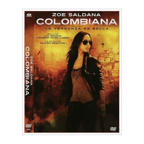 COLOMBIANA DVD 2011