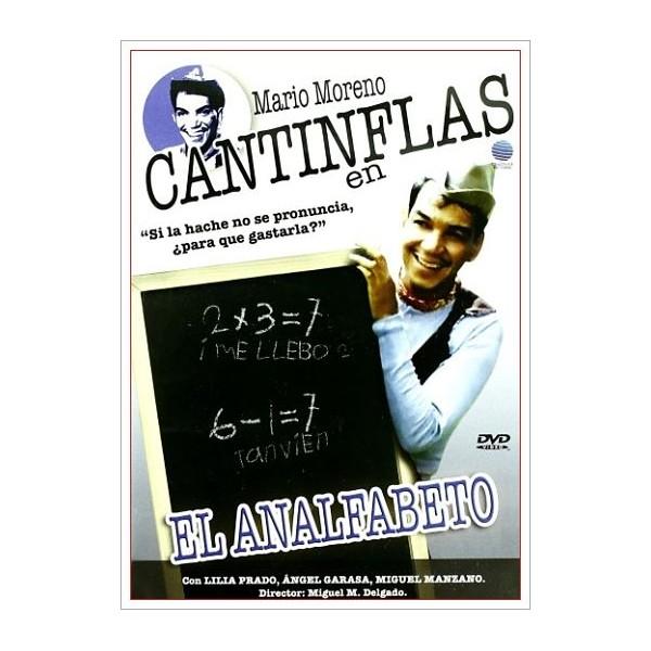 CANTINFLAS EN EL ANALFABETO DVD