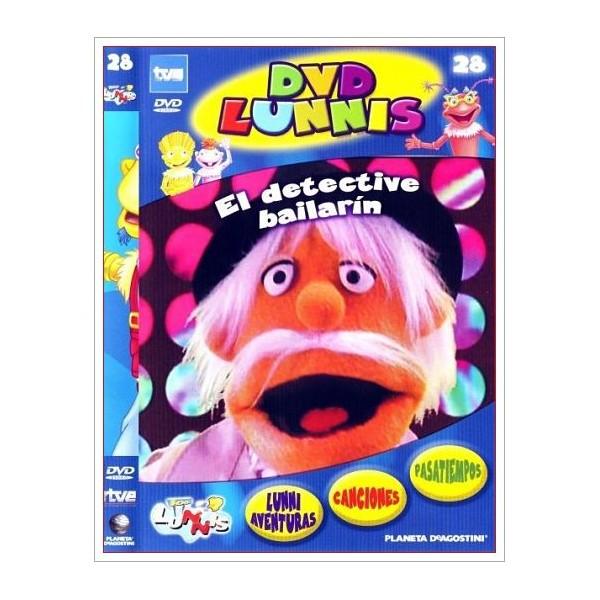 LOS LUNNIS EL DETECTIVE BAILARÍN DVD 2003 Dirigida por Eladio Jareño