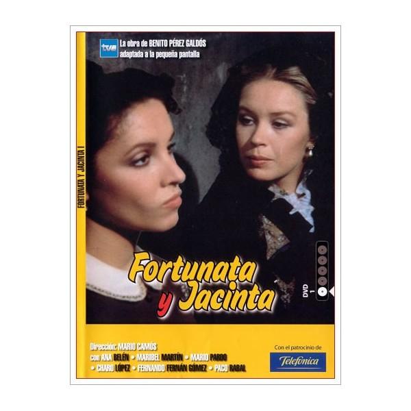 FORTUNATA Y JACINTA DVD 1980 Miniserie de TV de 10 episodios (5 DVd)