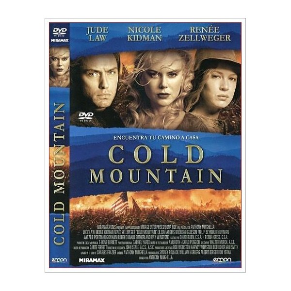 COLD MOUNTAIN DVD 2003 Romantica