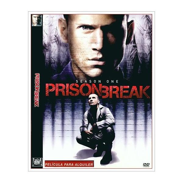 PRISON BREAK PRIMERA TEMPORADA (11 DISCOS DVD) 2005
