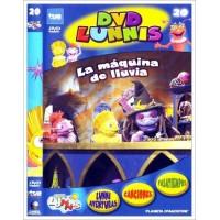 LOS LUNNIS LA MÁQUINA DE LLUVIA DVD 2003 CINE ESPAÑOL D. Eladio Jareño