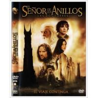 EL SEÑOR DE LOS ANILLOS LAS DOS TORRES Dvd 2002
