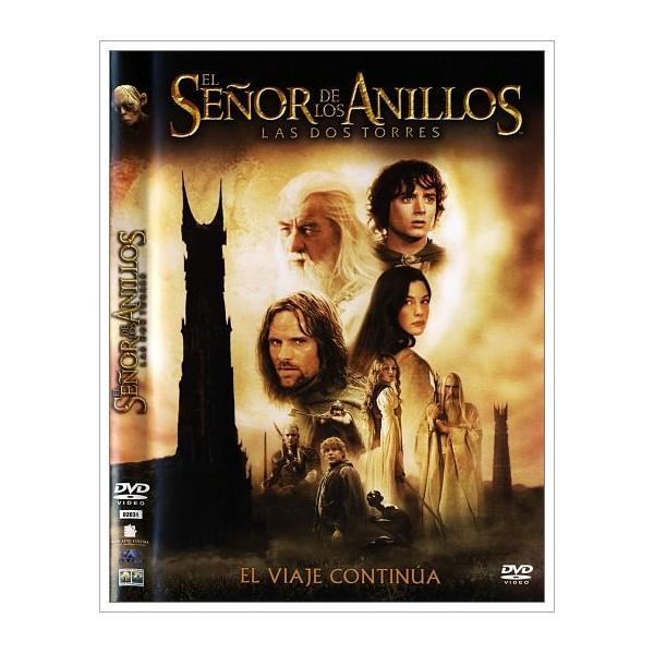 EL SEÑOR DE LOS ANILLOS LAS DOS TORRES EDICIÓN 2 DISCOS DVD 2002