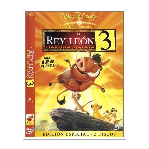 EL REY LEON 3: HAKUNA MATATA EE 2 DISCOS