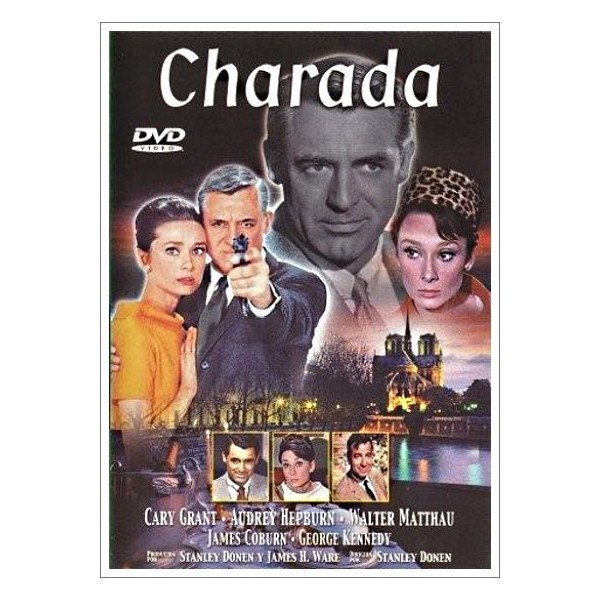CHARADA DVD 1963
