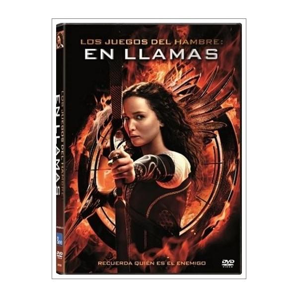 LOS JUEGOS DEL HAMBRE: EN LLAMAS DVD 2013