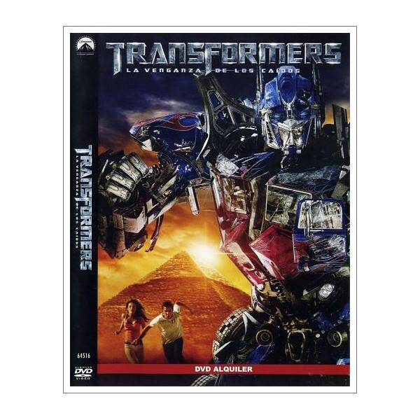 TRANSFORMERS: LA VENGANZA DE LOS CAIDOS DVD 2009 Dirección Michael Bay