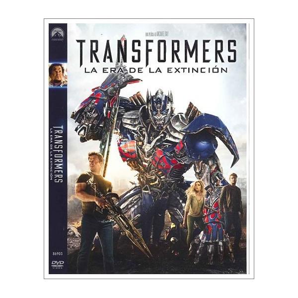TRANSFORMER LA ERA DE LA EXTINCIÓN Dvd 2014