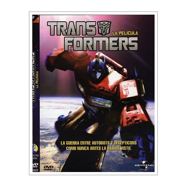 TRANSFORMERS ANIMACION DVD