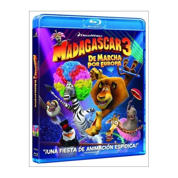MADAGASCAR 3 DE MARCHA POR EUROPA 3D