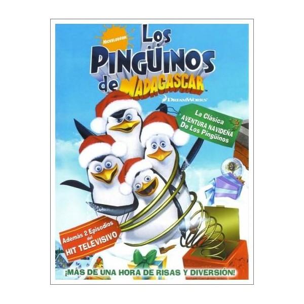 LOS PINGUINOS DE MADAGASCAR DVD 2005