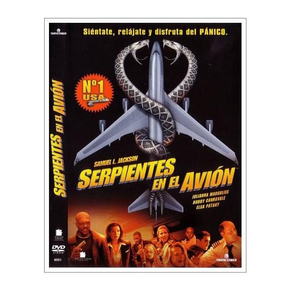 SERPIENTES EN EL AVIÓN DVD 2006