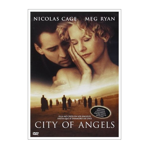 CITY OF ANGELS CIUDAD DE LOS ÁNGELES DVD 1998 Director Brad Silberling