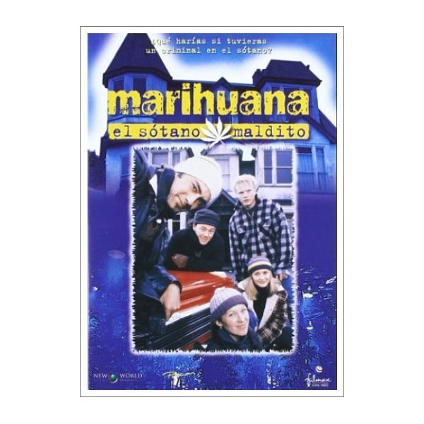 MARIHUANA EL SÓTANO MALDITO (Scarfies) DVD 1999