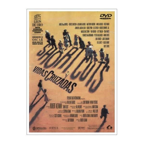 VIDAS CRUZADAS (SHORT CUTS) DVD 1993