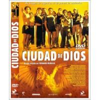 CIUDAD DE DIOS DVD 2002 Dirección Fernando Meirelles-Kátia Lund