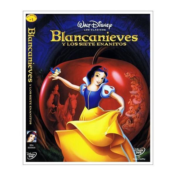 BLANCANIEVES Y LOS SIETE ENANITOS DVD 1937
