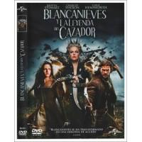 BLANCANIEVES Y LA LEYENDA DEL CAZADOR DVD 2012
