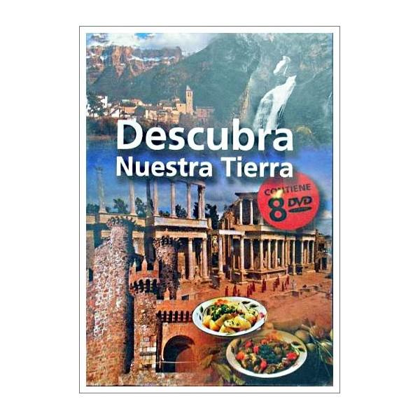 DESCUBRA NUESTRA TIERRA 8 DISCOS