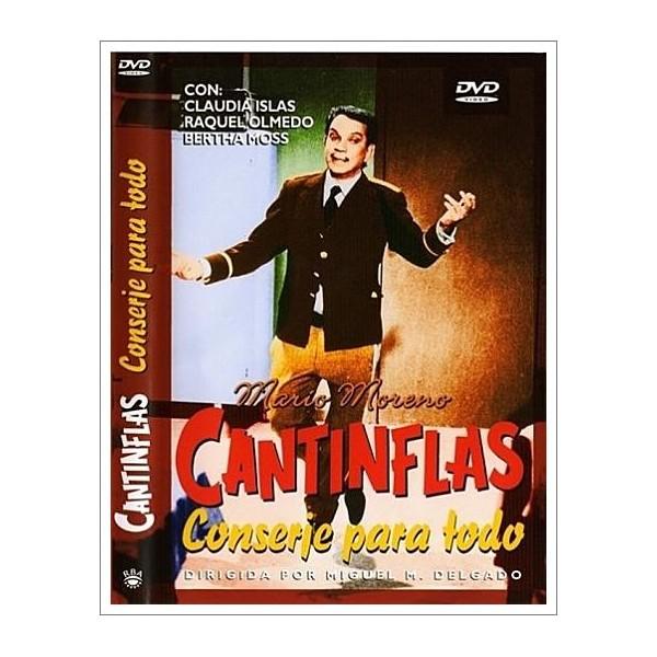 CANTINFLAS CONSERJE PARA TODO DVD 1974 DVD