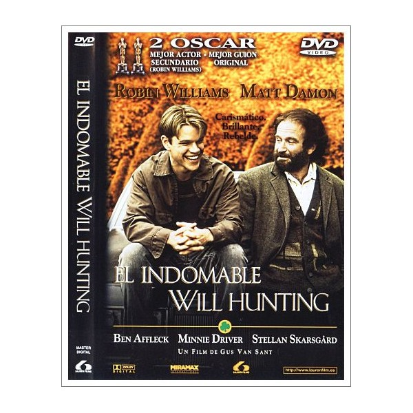 EL INDOMABLE WILL HUNTING DVD 1997