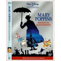 MARY POPPINS EE 2 DISCOS DVD 1964