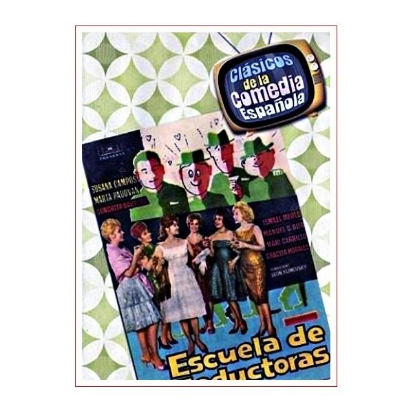 ESCUELA DE SEDUCTORAS Dvd 1962 Estuche Slim