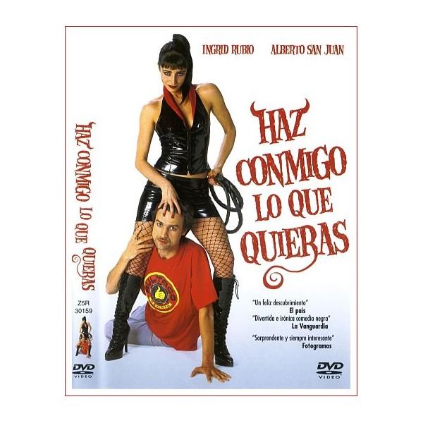 HAZ CONMIGO LO QUE QUIERAS DVD