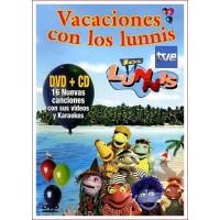 LOS LUNNIS VACACIONES CON LOS LUNNIS DVD+CD 2004