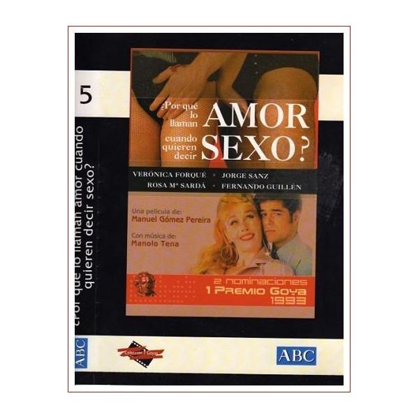 ¿PORQUE LO LLAMAN AMOR CUANDO QUIEREN DECIR SEXO? DVD 1993